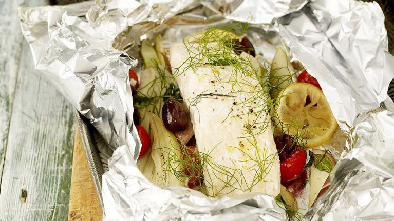 Jamie Oliver S Fish In A Bag Jamie Oliver Fish In A Bag Recipe For One